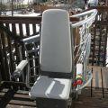 Treppenstuhllift für Innen -und Außenbereich