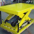 Riemenhubtisch: Traglast: 1,5, Plattform: 1500 x 1000mm