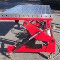 Schweißtisch  mit Hub- Kipp-Neige - Funktion, stationär oder verfahrbar. Traglast: bis 500Kg