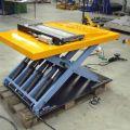 Flachhubtische - Traglast bis 2000kg, Mindestbauhöhe bis 80mm. Auch in Sonderanfertigung.
